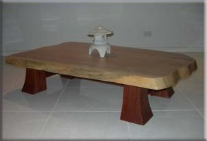 Coffee Table displaying Oriental accents